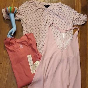 Liz Claiborne  pink lot